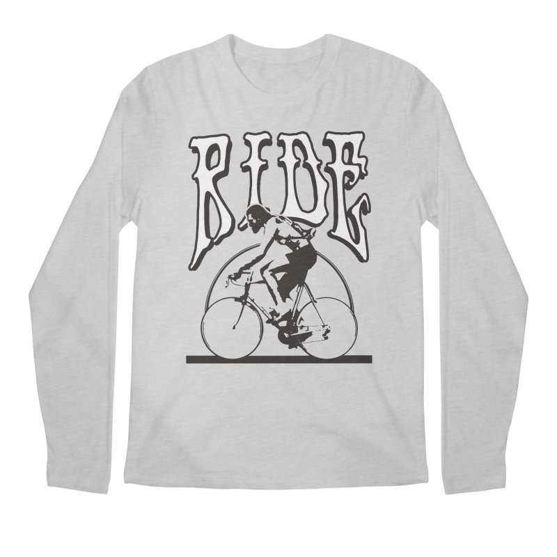 RIDE Men's Longsleeve T-Shirt by nshanemartin's Artist Shop