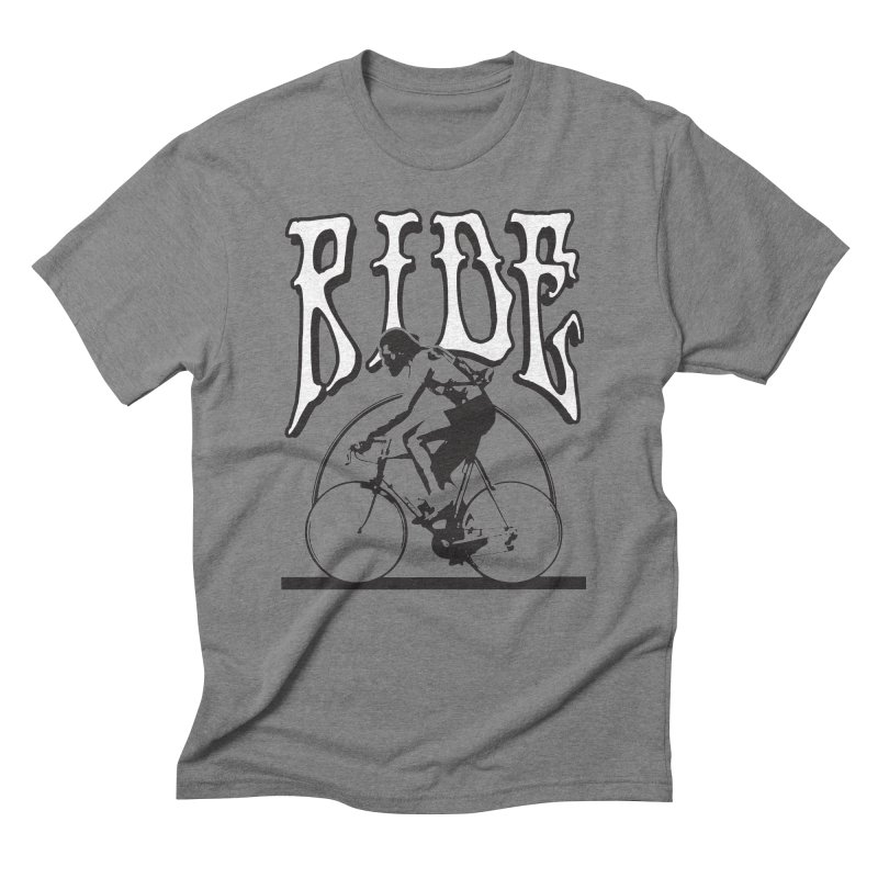 RIDE Men's Triblend T-shirt by nshanemartin's Artist Shop