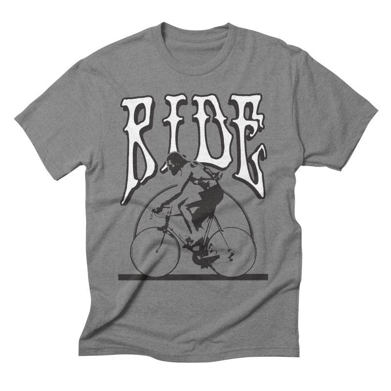 RIDE Men's Triblend T-shirt by nshanemartin's Artist Shop