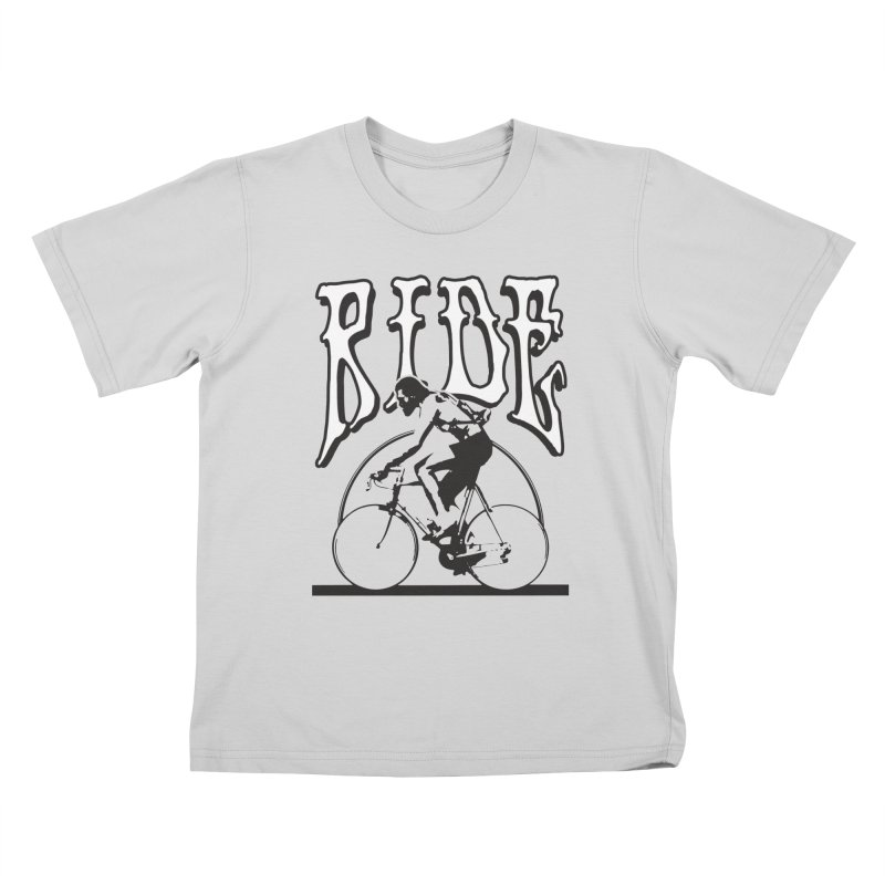 RIDE Kids T-Shirt by nshanemartin's Artist Shop