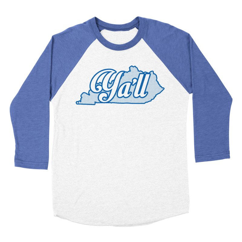 Kentucky Ya'll 1 Women's Baseball Triblend T-Shirt by nshanemartin's Artist Shop