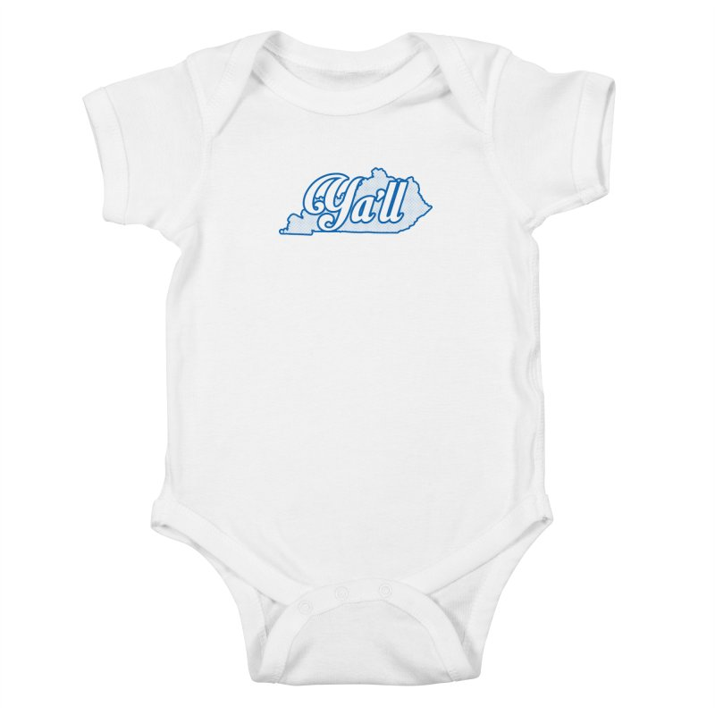 Kentucky Ya'll 1 Kids Baby Bodysuit by nshanemartin's Artist Shop