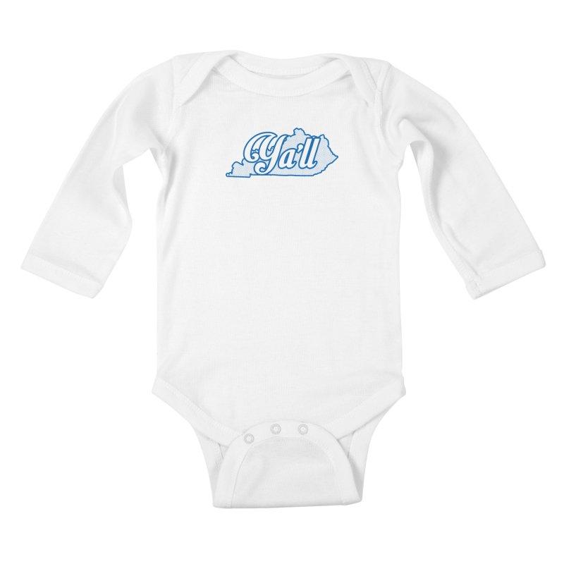 Kentucky Ya'll 1 Kids Baby Longsleeve Bodysuit by nshanemartin's Artist Shop