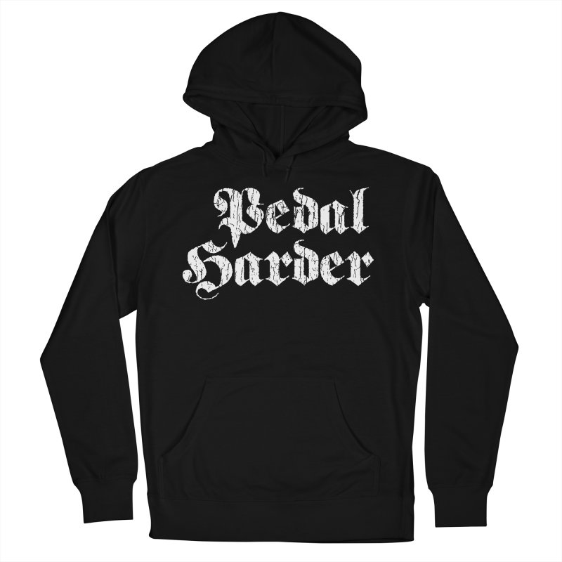 Pedal Harder Men's Pullover Hoody by nshanemartin's Artist Shop