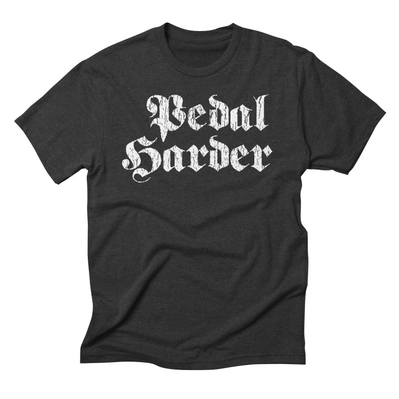 Pedal Harder Men's Triblend T-shirt by nshanemartin's Artist Shop