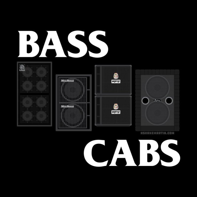 BASS CABS Men's T-Shirt by N. Shane Martin