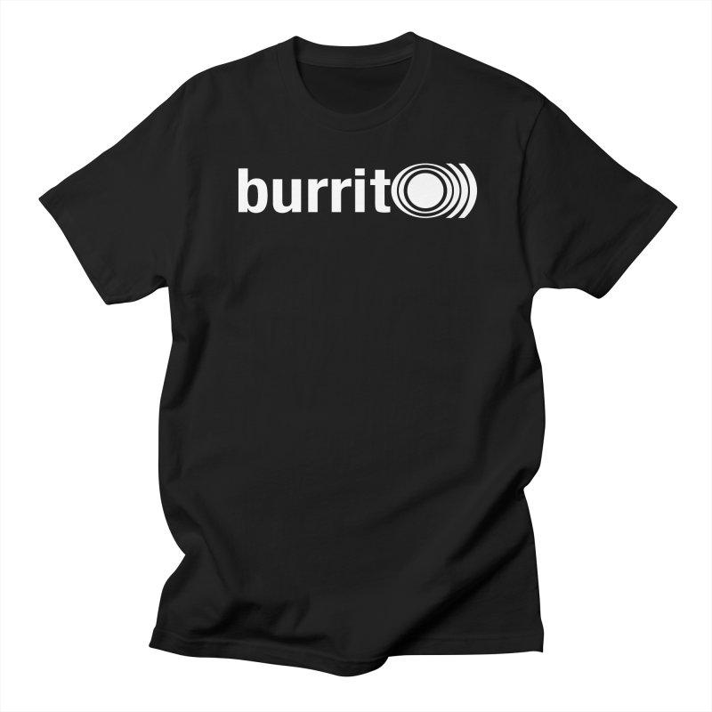 burrito)) Men's T-shirt by nshanemartin's Artist Shop