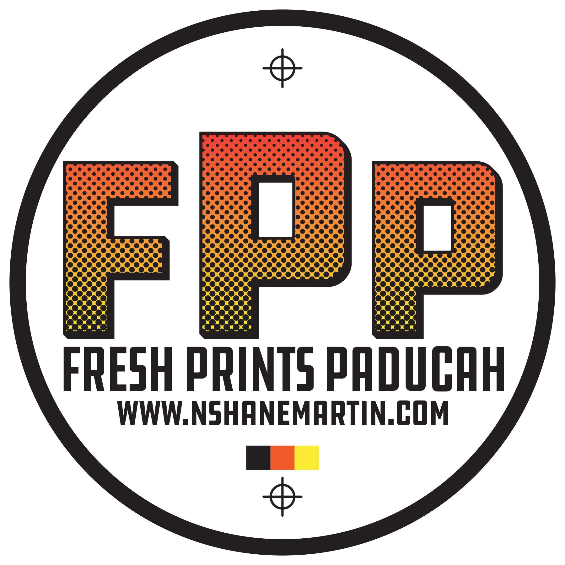N. Shane Martin's Fresh Prints Logo