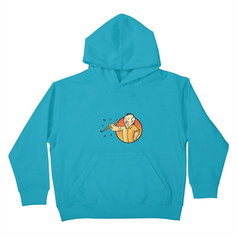 Bonsai boy Kids Pullover Hoody by ntesign's Artist Shop