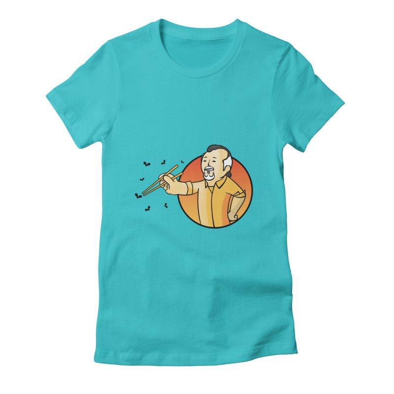 Bonsai boy Women's Fitted T-Shirt by ntesign's Artist Shop