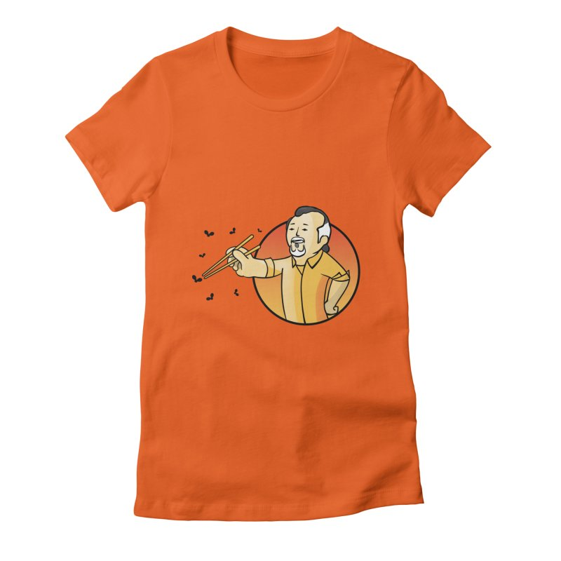 Bonsai boy Women's Fitted T-Shirt by ntesign's Artist Shop