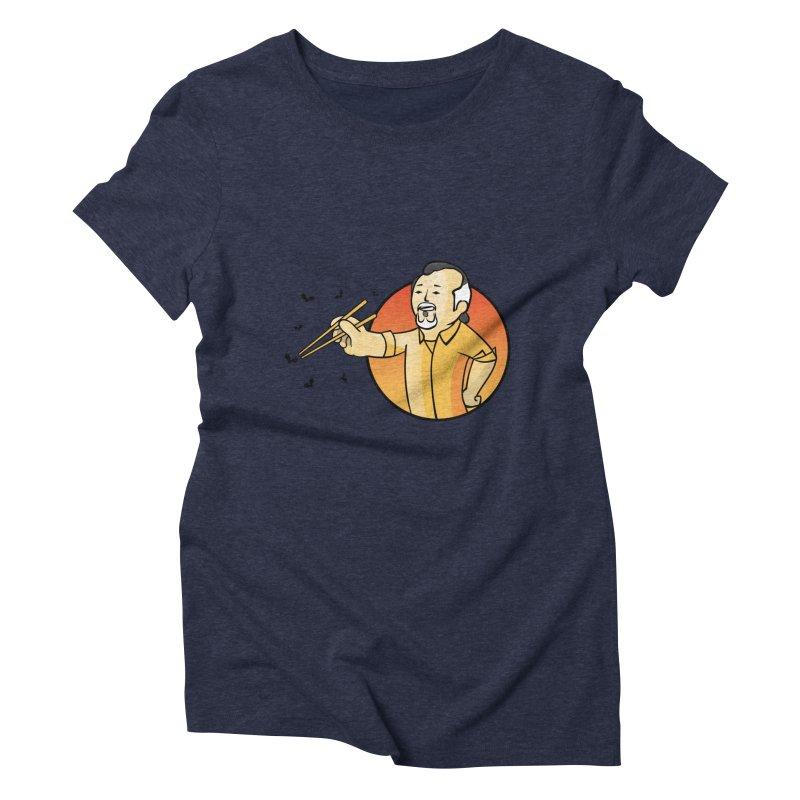 Bonsai boy Women's Triblend T-shirt by ntesign's Artist Shop