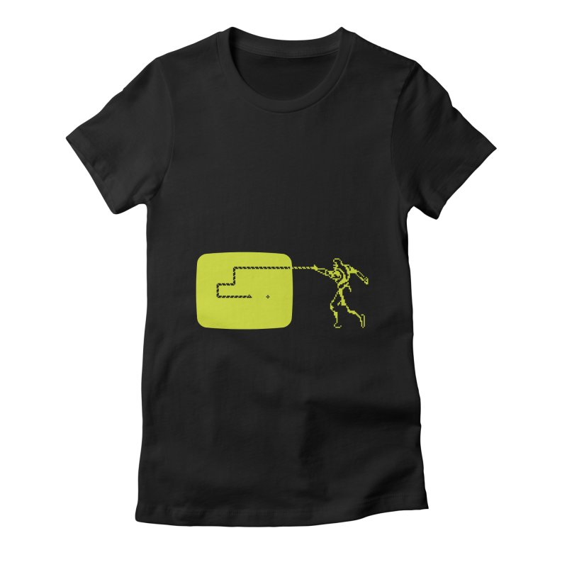 Sneak Women's Fitted T-Shirt by ntesign's Artist Shop