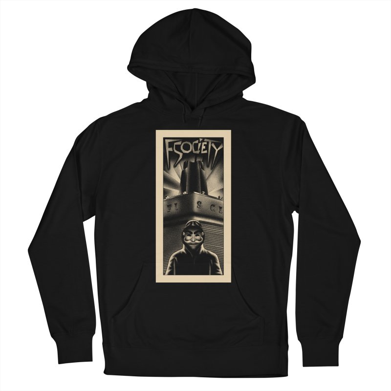 Democracy hacked Men's Pullover Hoody by ntesign's Artist Shop