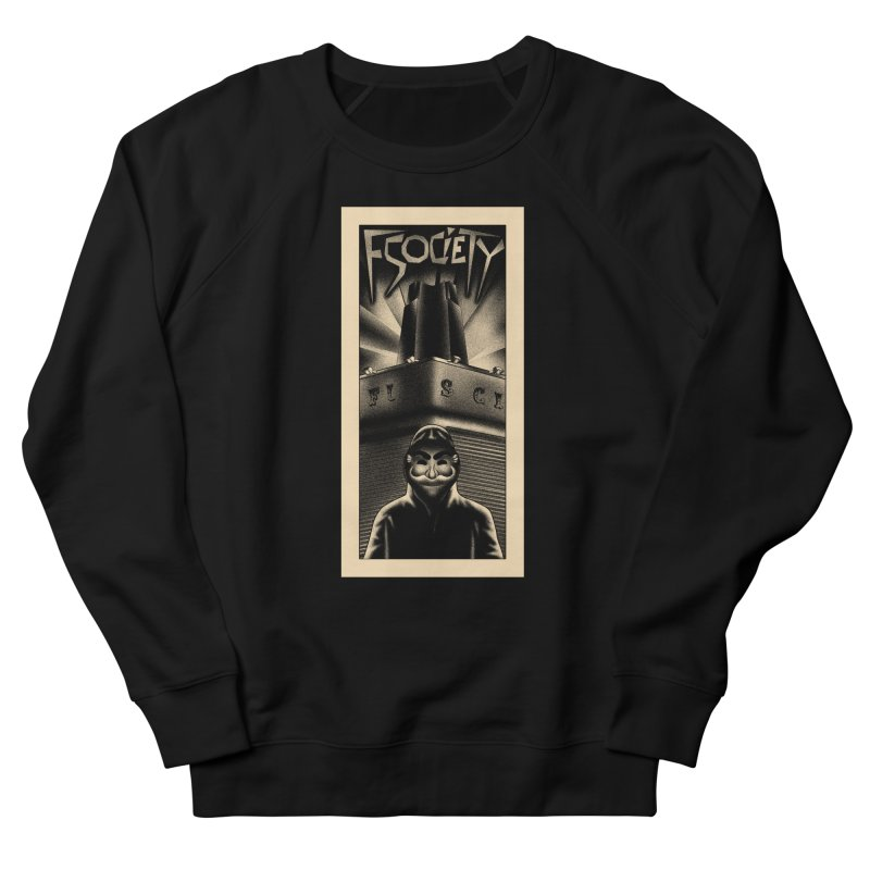 Democracy hacked Men's Sweatshirt by ntesign's Artist Shop
