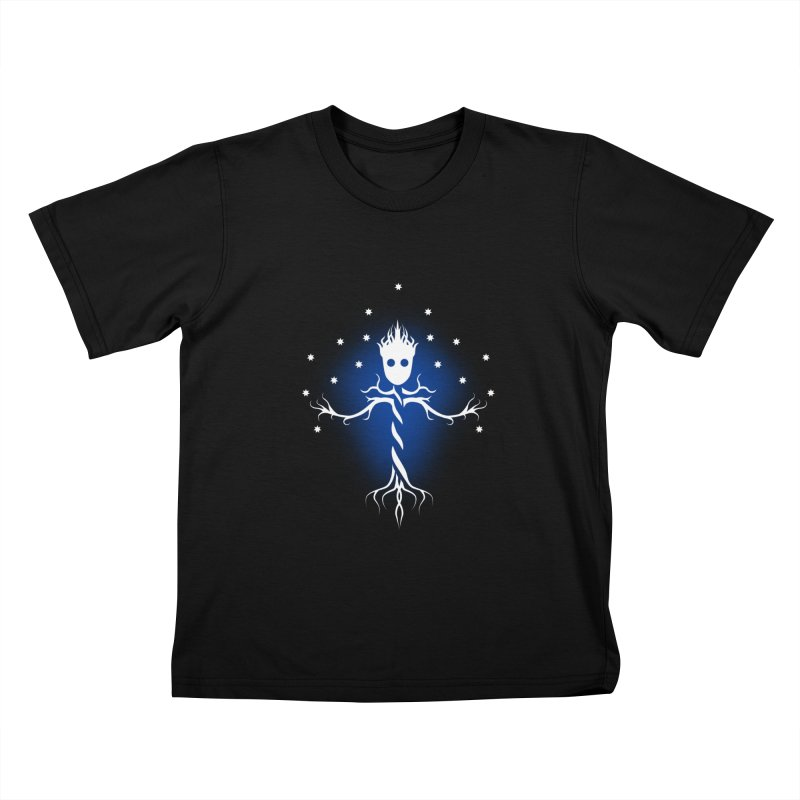 Guardian tree of the galaxy Kids T-shirt by ntesign's Artist Shop