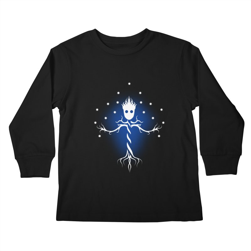 Guardian tree of the galaxy Kids Longsleeve T-Shirt by ntesign's Artist Shop