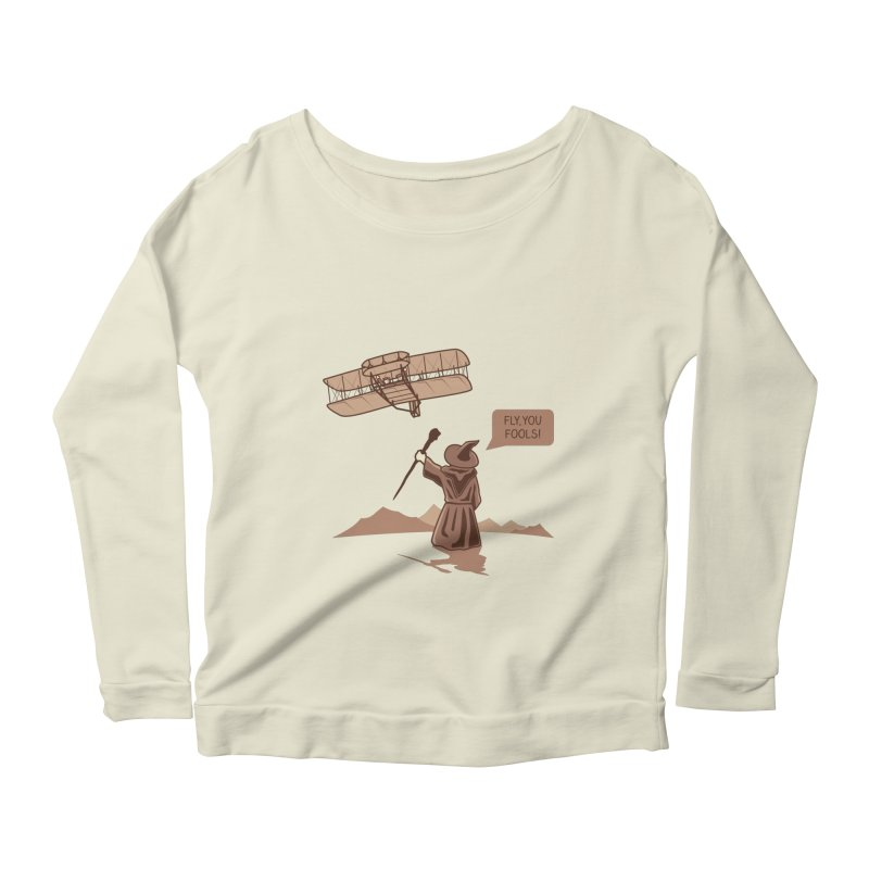 Magic motivation Women's Longsleeve Scoopneck  by ntesign's Artist Shop