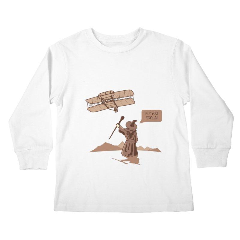 Magic motivation Kids Longsleeve T-Shirt by ntesign's Artist Shop