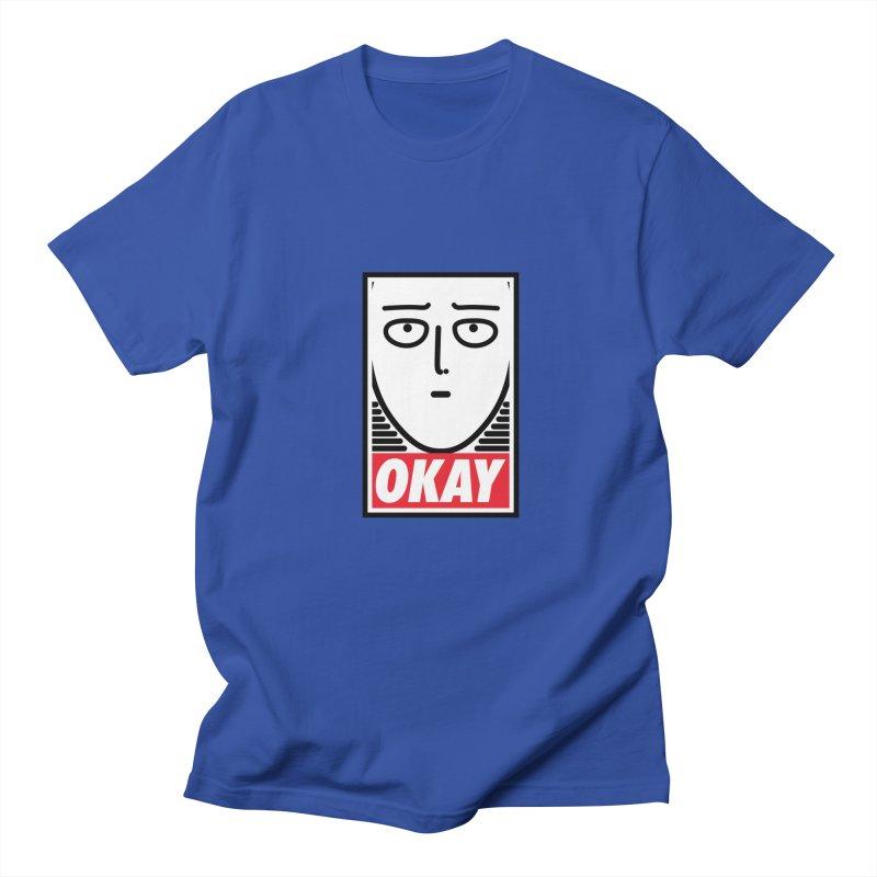 OK. Men's T-shirt by ntesign's Artist Shop