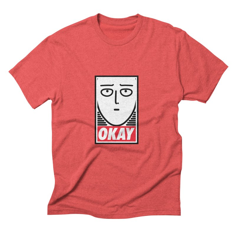 OK. Men's Triblend T-Shirt by ntesign's Artist Shop