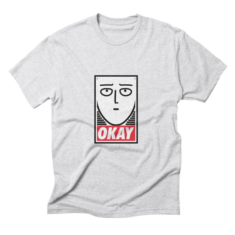 OK. Men's Triblend T-shirt by ntesign's Artist Shop