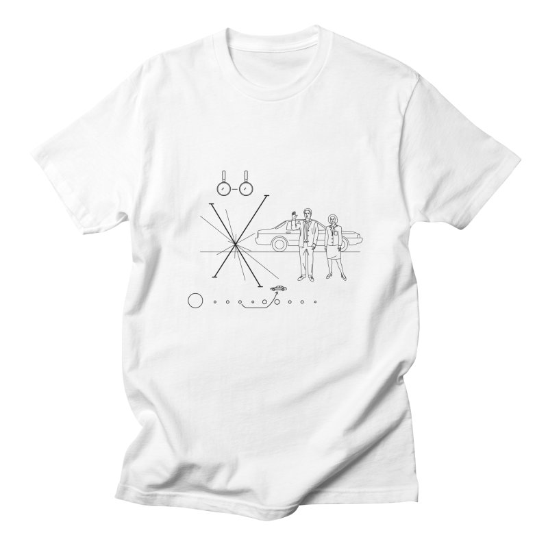 X plaque Men's T-Shirt by ntesign's Artist Shop