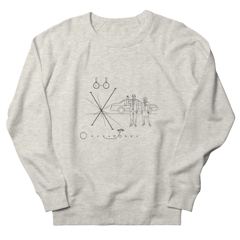 X plaque Men's Sweatshirt by ntesign's Artist Shop