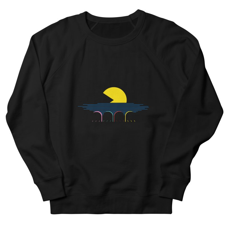 Retro sunset Men's Sweatshirt by ntesign's Artist Shop