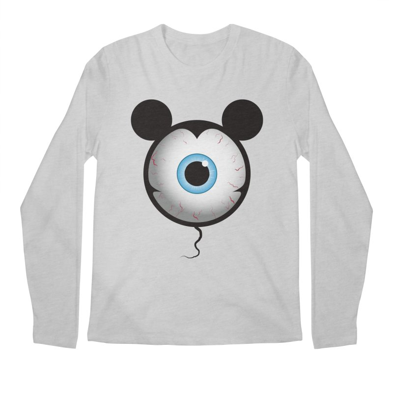 Cyclops Mouse Men's Longsleeve T-Shirt by Numb Skull