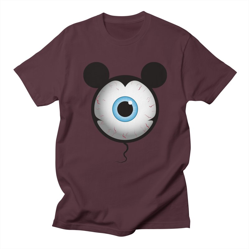 Cyclops Mouse Men's T-shirt by Numb Skull