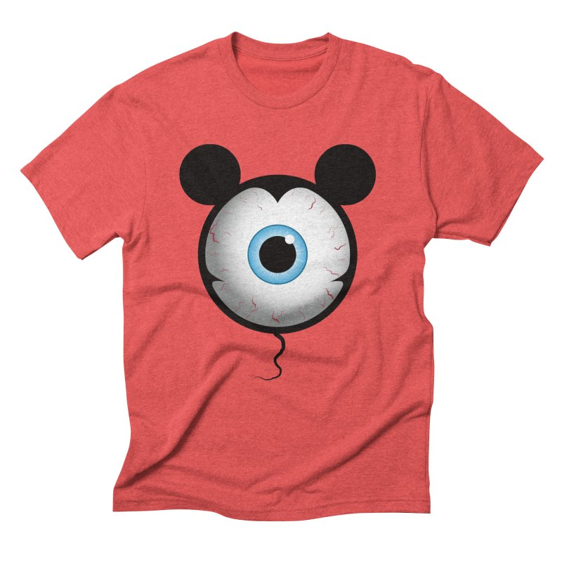 Cyclops Mouse Men's Triblend T-Shirt by Numb Skull