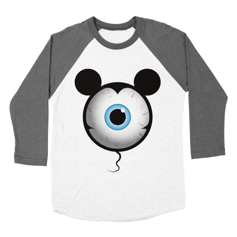 Cyclops Mouse Men's Baseball Triblend T-Shirt by Numb Skull
