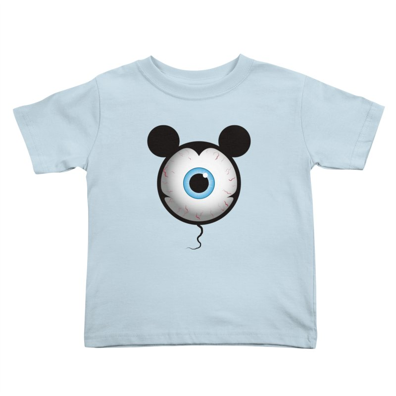 Cyclops Mouse Kids Toddler T-Shirt by Numb Skull