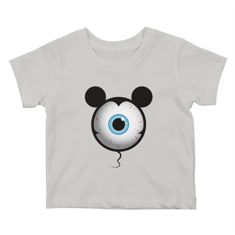 Cyclops Mouse Kids Baby T-Shirt by Numb Skull
