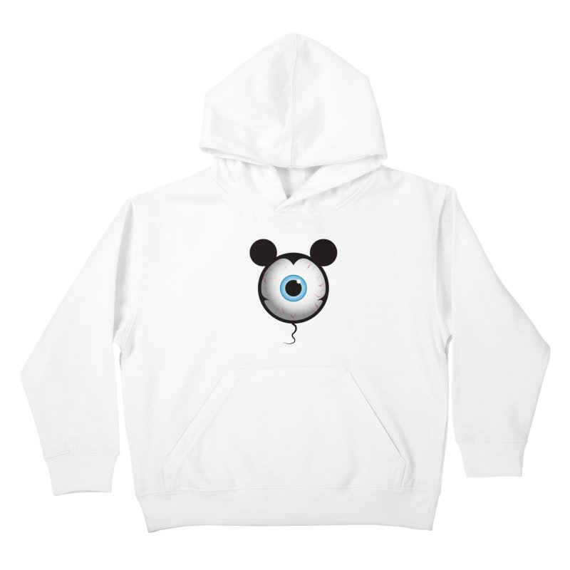 Cyclops Mouse Kids Pullover Hoody by Numb Skull