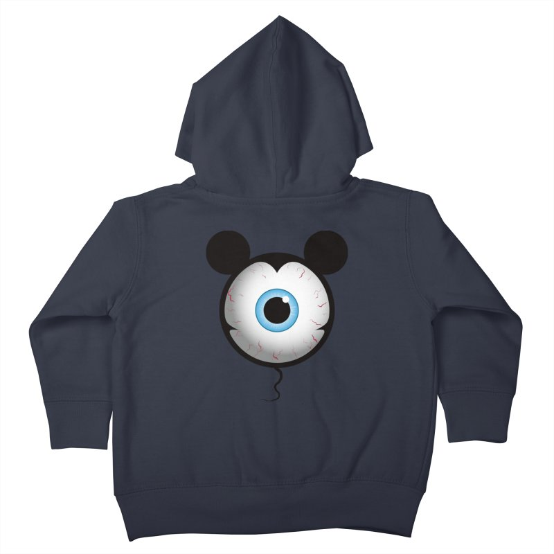 Cyclops Mouse Kids Toddler Zip-Up Hoody by Numb Skull