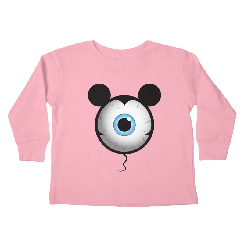Cyclops Mouse Kids Toddler Longsleeve T-Shirt by Numb Skull