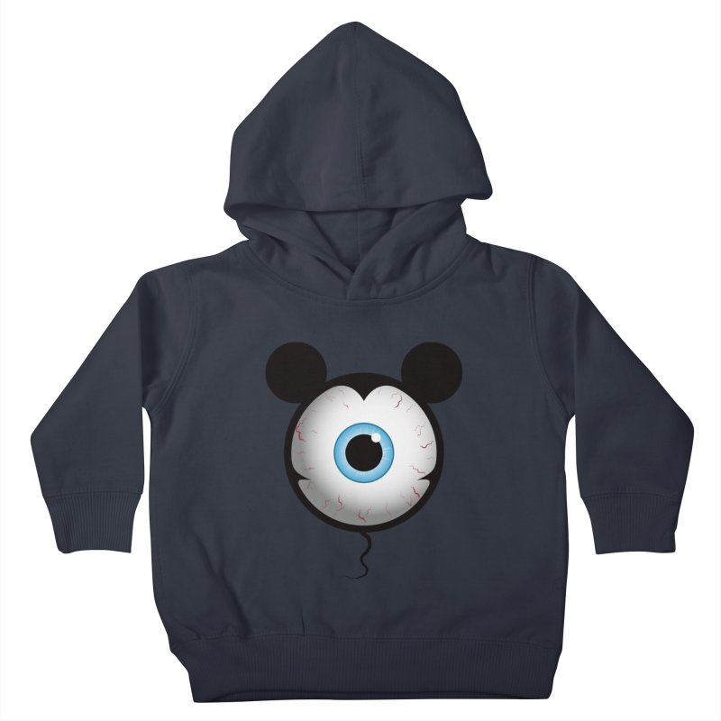 Cyclops Mouse Kids Toddler Pullover Hoody by Numb Skull