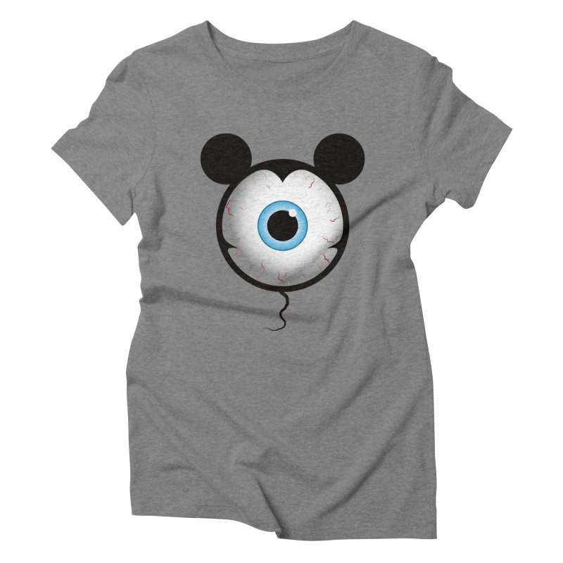 Cyclops Mouse Women's Triblend T-shirt by Numb Skull
