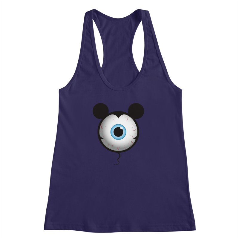 Cyclops Mouse Women's Racerback Tank by Numb Skull