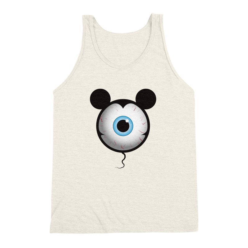 Cyclops Mouse Men's Triblend Tank by Numb Skull