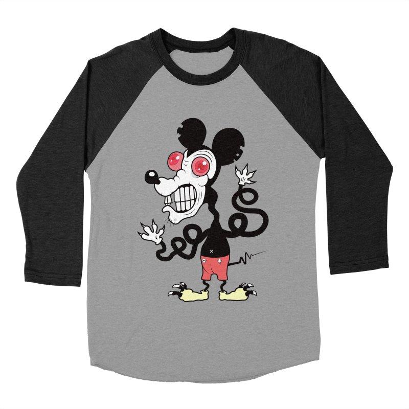 That Dirty Rat Men's Baseball Triblend T-Shirt by Numb Skull