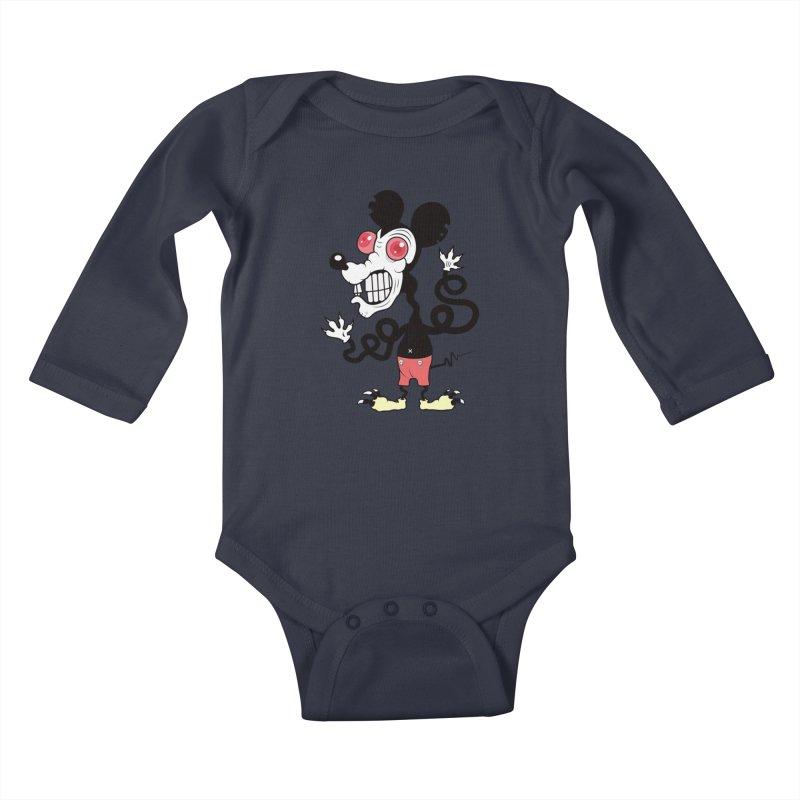 That Dirty Rat Kids Baby Longsleeve Bodysuit by Numb Skull