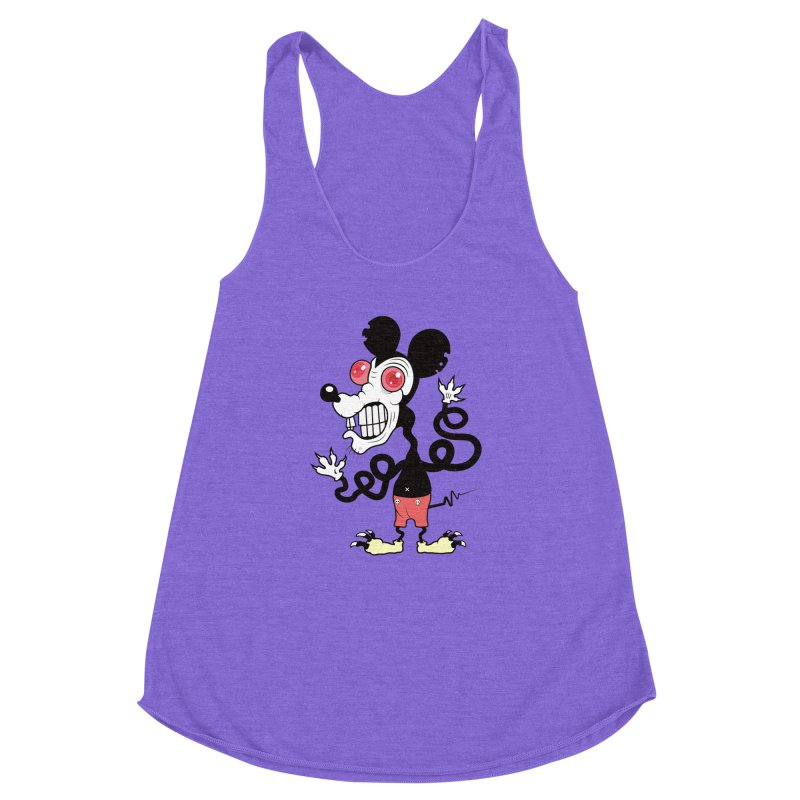 That Dirty Rat Women's Racerback Triblend Tank by Numb Skull