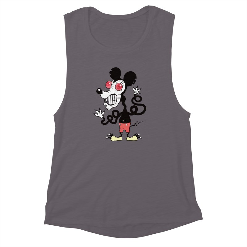 That Dirty Rat Women's Muscle Tank by Numb Skull