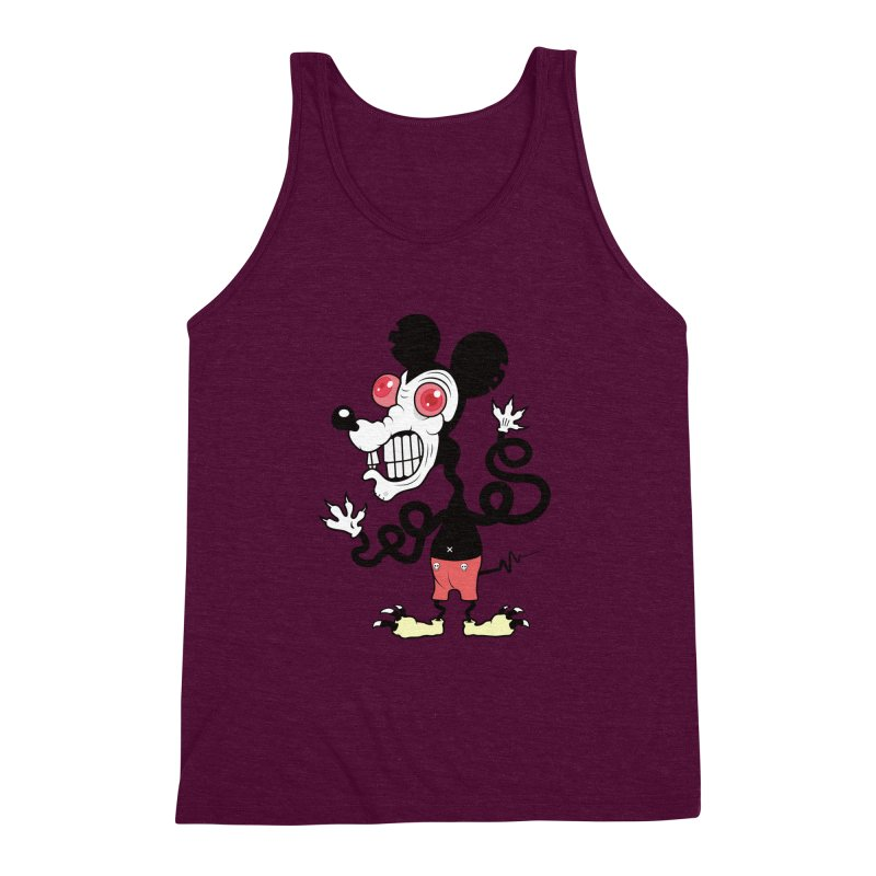 That Dirty Rat Men's Triblend Tank by Numb Skull