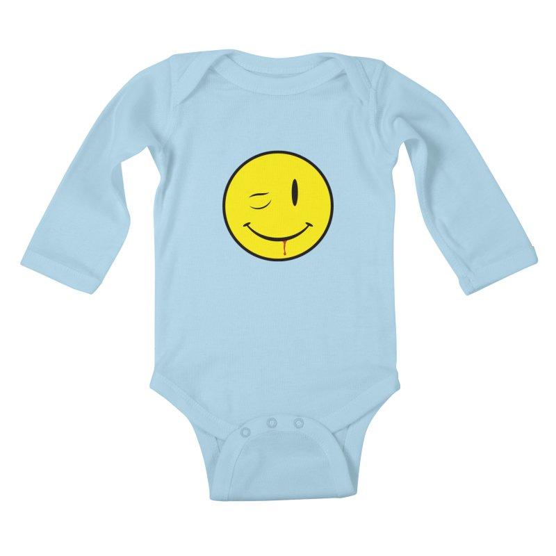 Project Mayhem Kids Baby Longsleeve Bodysuit by Numb Skull