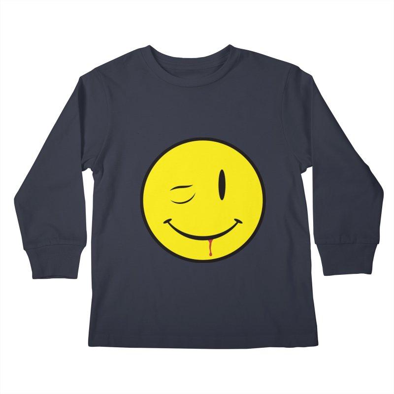 Project Mayhem Kids Longsleeve T-Shirt by Numb Skull