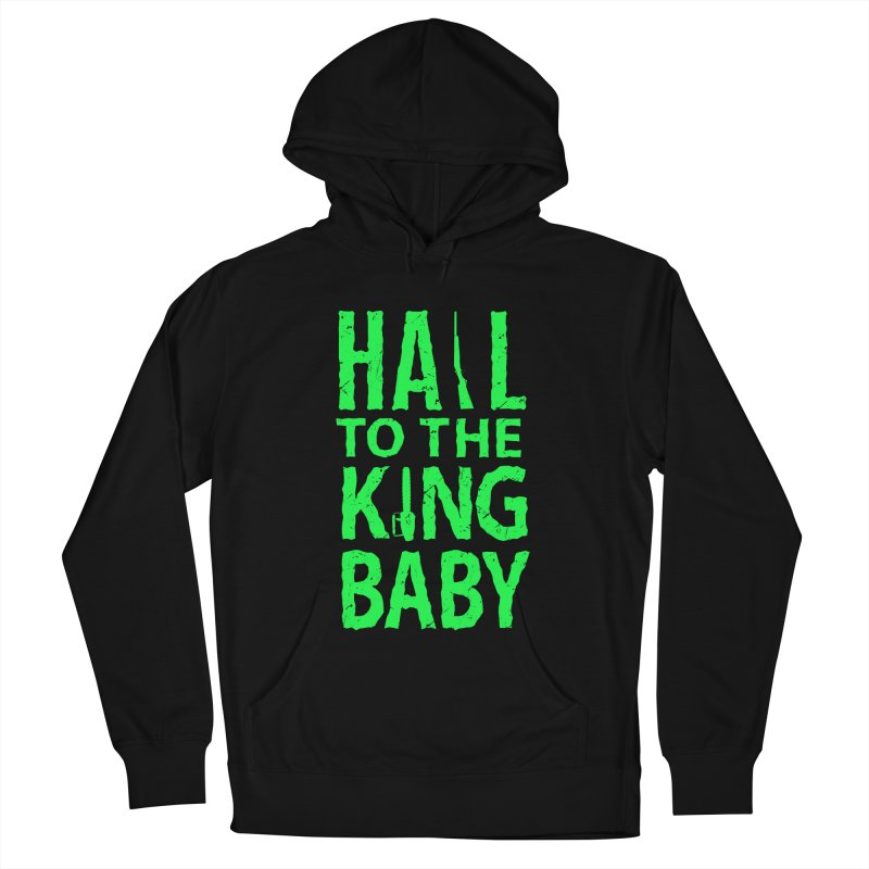 Hail To The King Men's Pullover Hoody by Numb Skull